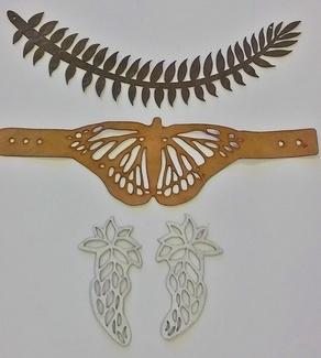 Corte y grabado en piel