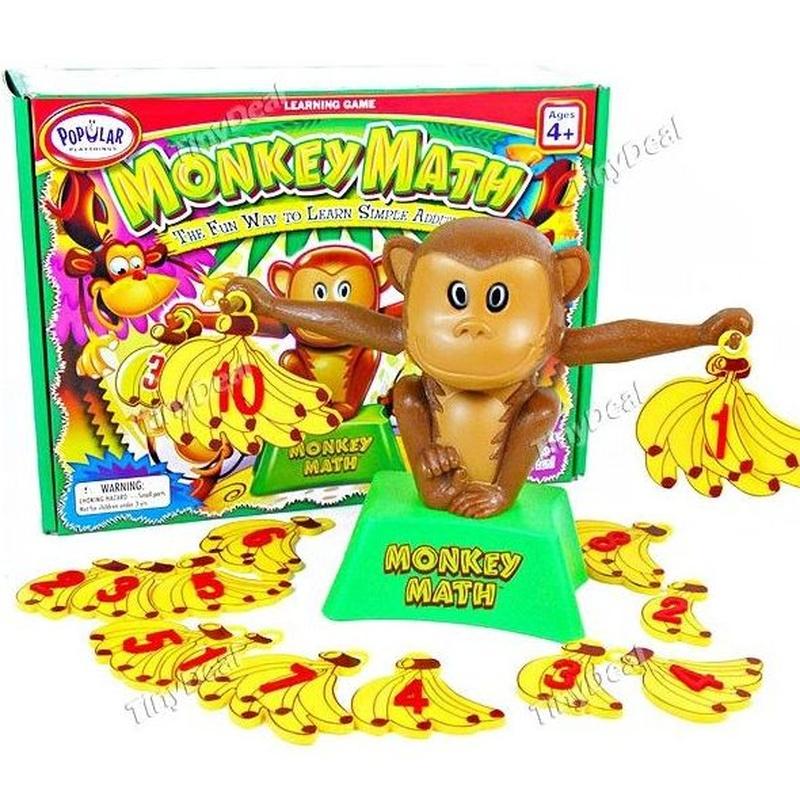 Monkey Mat. Monito para aprender a sumar