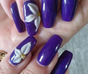 Nail decoration 3 D