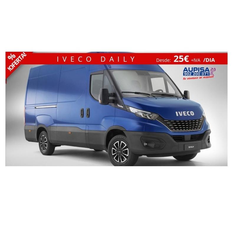 Iveco Daily: Vehículos de Ocasión de AUPISA Rent | Tu vehículo de alquiler