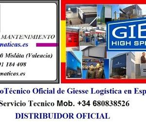 Farem Puertas Automáticas Servicio Técnico Oficial de Giesse Logística en España