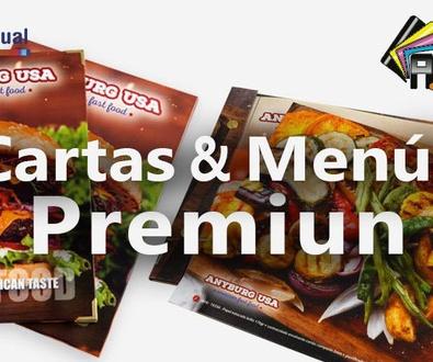 Cartas Restaurante PREMIUN