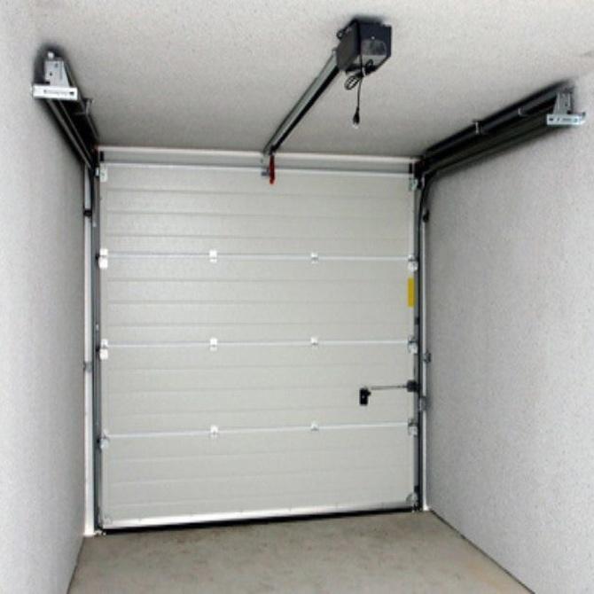 La instalación de automatismos en puertas