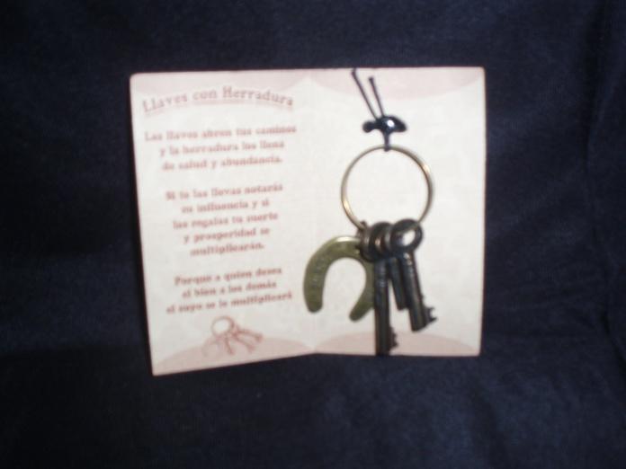 llavero de llaves y herradura: Catálogo de Talismán Tienda Esotérica