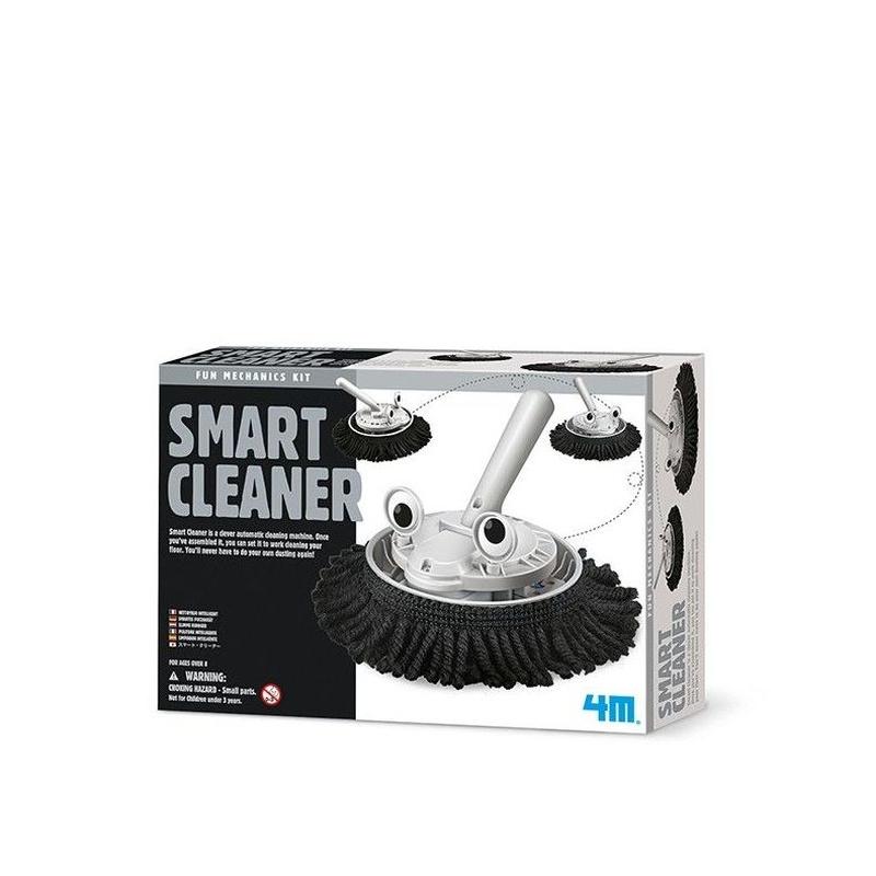 Haz un robot para limpiar. SMART CLEANER