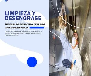 Limpieza y desengrase de sistemas de extracción