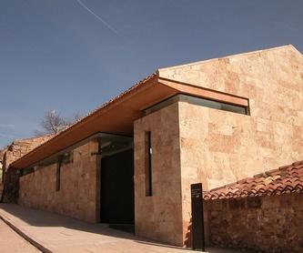 Proyectos de edificios de equipamientos: Servicios de Carlos Turégano Gastón - Arquitecto