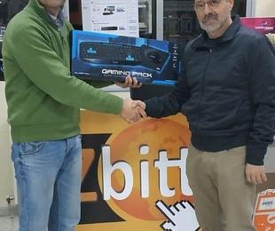 Entrega de premios sorteo Zbitt
