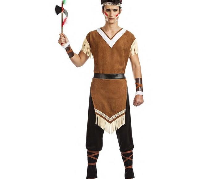 Disfraz indio mohicano