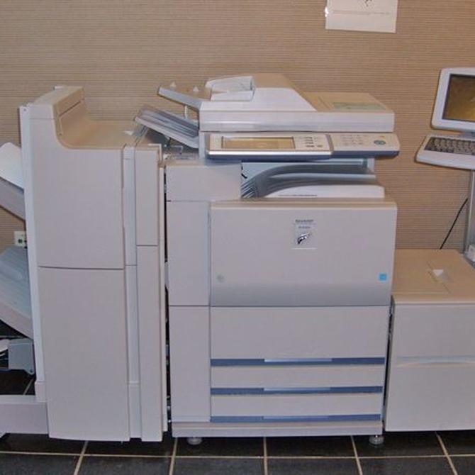 ¿Cuál es el mantenimiento necesario para una fotocopiadora?