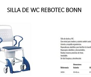SILLA DE BAÑO BONN