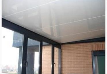 Soluciones para techos y sombras. Paneles autoportantes de aluminio