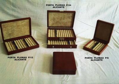 RELOJEROS-PORTAPLUMAS-PORTAGEMELOS: M.G. Piel Moreno y Garcés