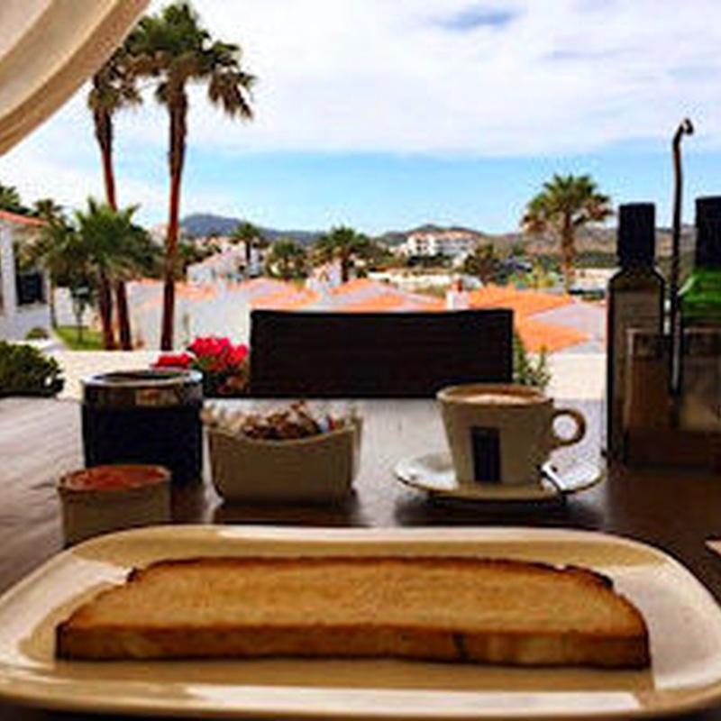 Desayunos: Carta de Restaurant Es Cactus