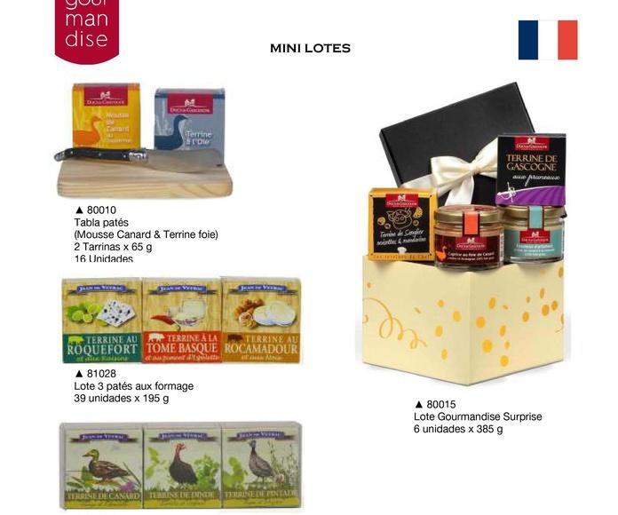 Ducs de Gascogne: Productos de Casa Bastida
