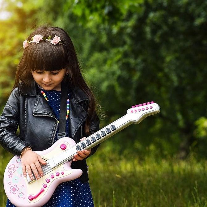Cinco beneficios de la música en la infancia