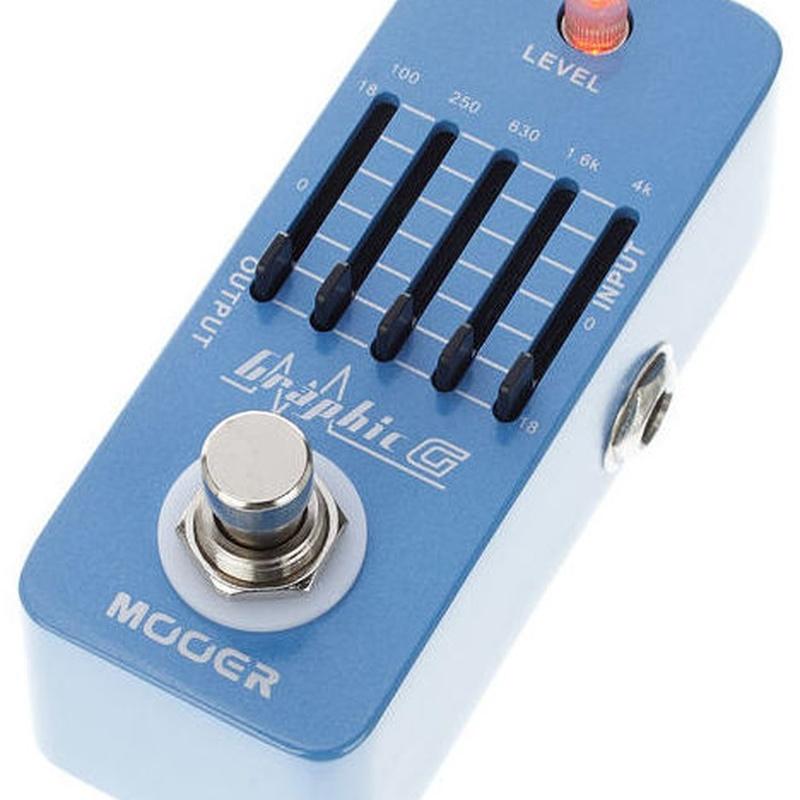 Mooer Graphic G, pedal ecualizador para guitarra