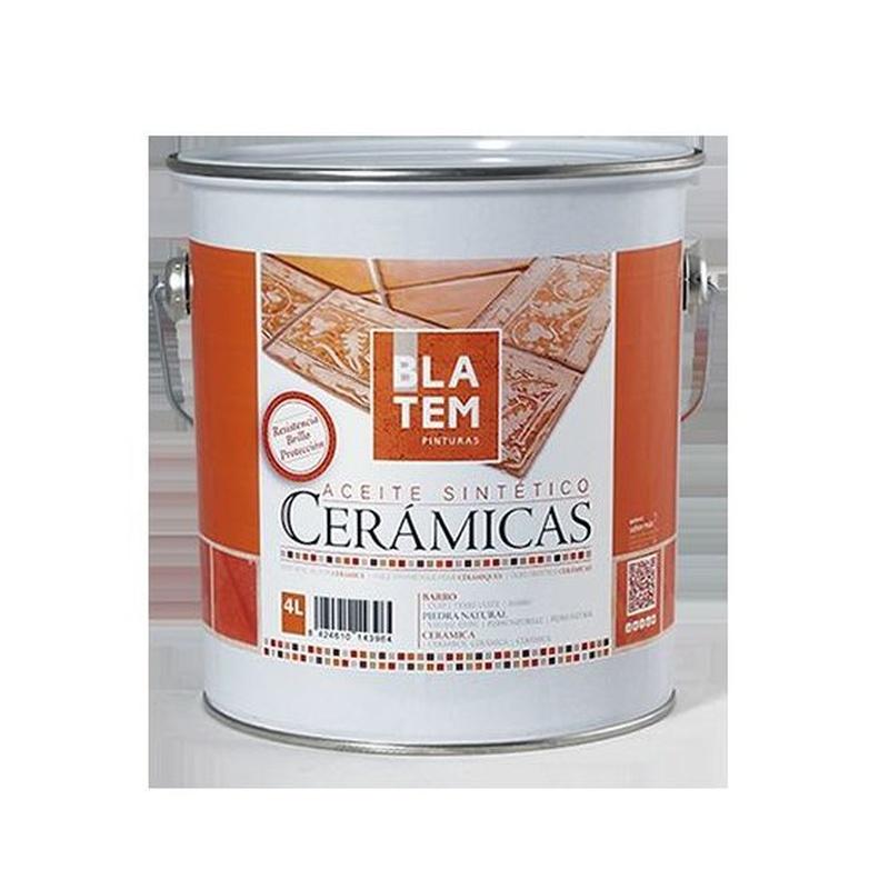 Aceite sintético cerámicas en almacén de pinturas en ciudad lineal.