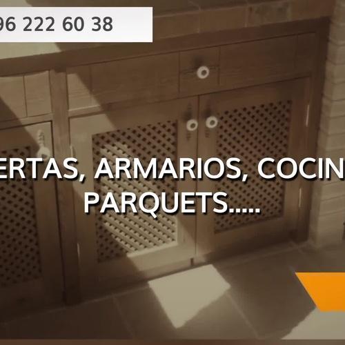 Carpintería y ebanistería en Enguera | Dimeca Gómez, S.L.