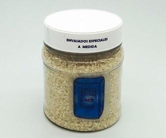 Tarros de polietileno : NUESTROS  ENVASADOS de Envasados de Alimentos Bio y Gourmet, S.L