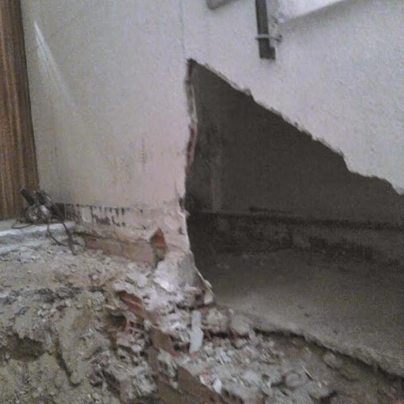 Supresión de barreras arquitectónicas: Trabajos de Construcciones Reformas Hermanos Bordetas