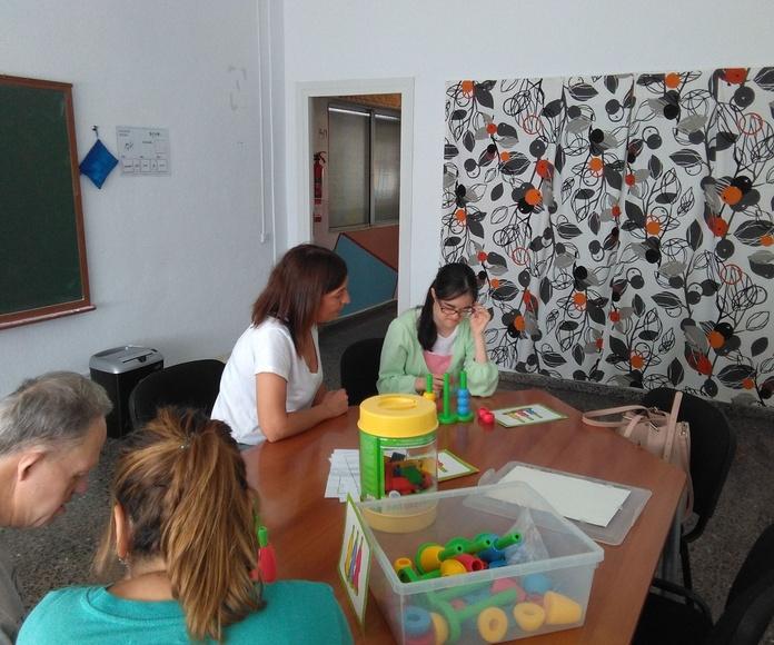 Taller de estimulación cognitiva en Down Tenerife: Proyectos y Servicios de Asociación Domitila