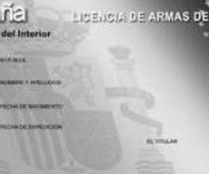 Certificado licencia de armas en Sagunto