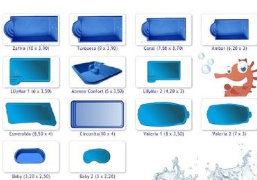 Fabricación de piscinas de poliéster Luis Pino