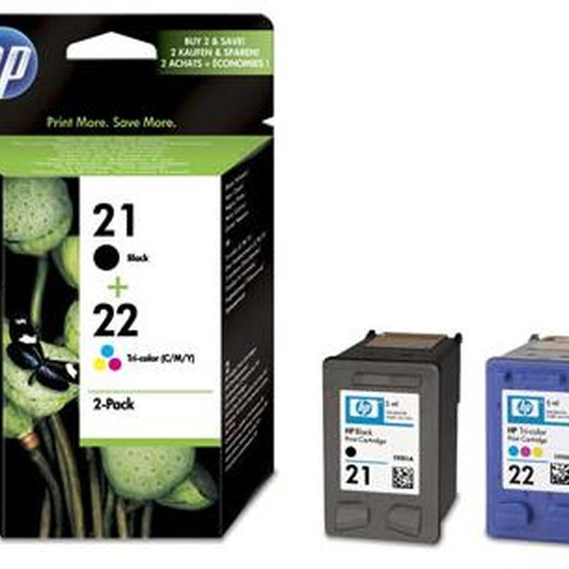 Cartucho HP21 + HP22 - SD367AE