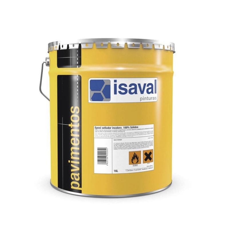 Epoxi sellador incoloro 100% sólidos en almacén de pinturas en pueblo nuevo.
