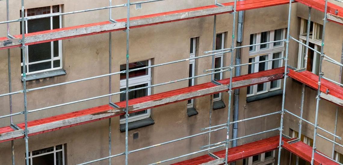 Rehabilitación de edificios en Móstoles