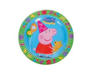 Platos desechables de Peppa Pig