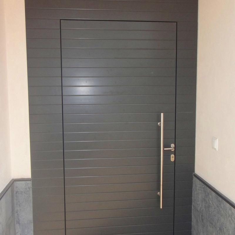 Puertas paneladas Asturias