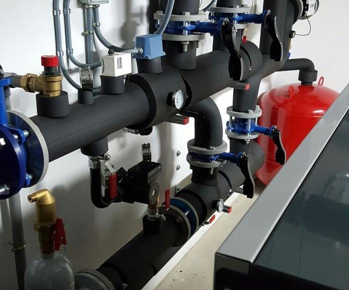 Agua caliente sanitaria: Servicios de Jesp Fontanería