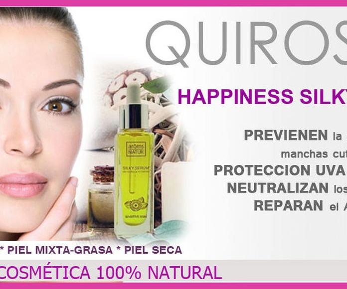 HAPPINESS COSMETICS: Servicios de Quirosan