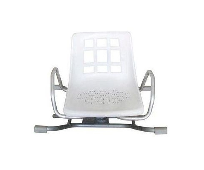 Silla giratoria de aluminio para baño: Productos y servicios de Ortopedia Delgado, S. L.
