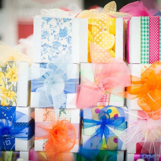 Ideas para decorar tus cajas de regalos