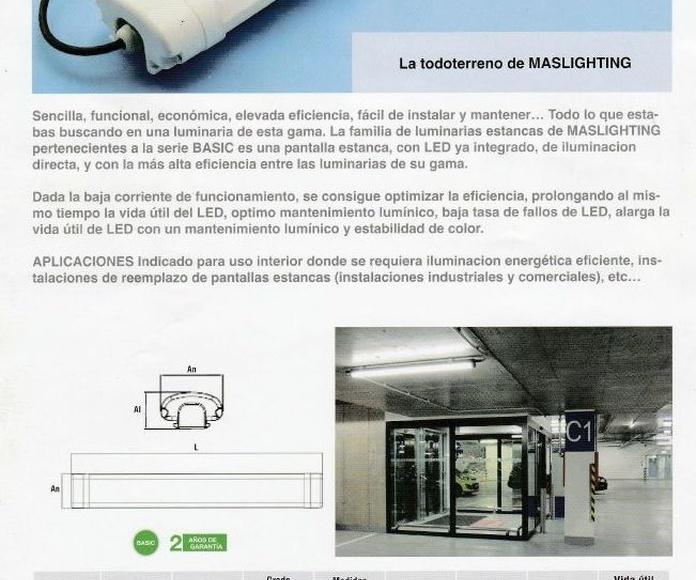 Pantalla estanca 36w 5000k: Productos de Centro Led Almería