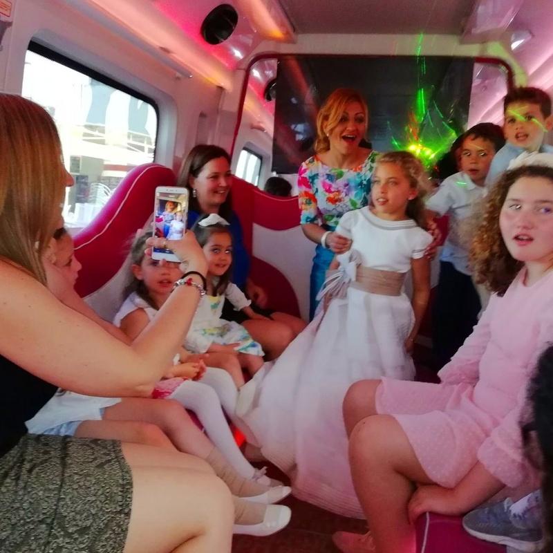Comuniones en Discobus Sevilla