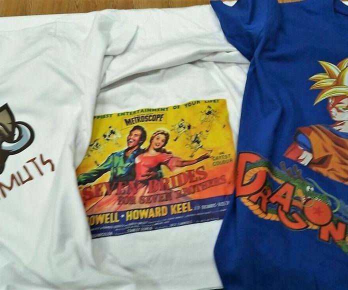 Personaliza tus camisetas para tus eventos