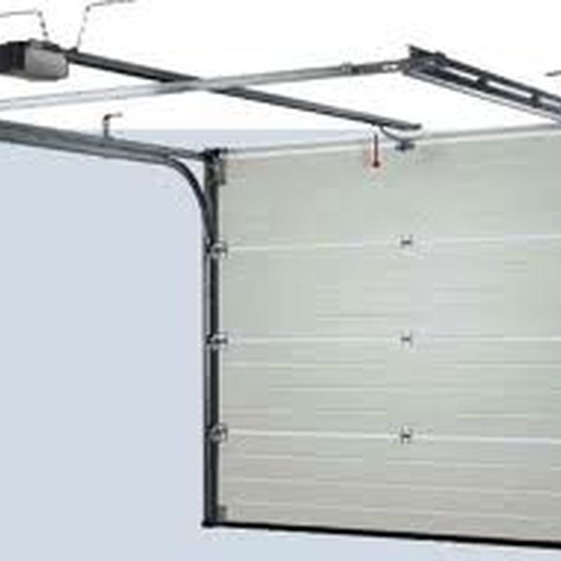 Motorización de persianas y puertas seccionales