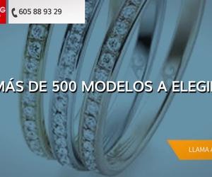 Alianzas de platino en Sarriá-Sant Gervas, Barcelona | My Ring