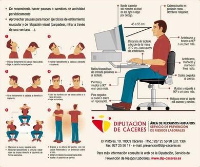 Fisioconsejo: como mejorar la higiene postural.