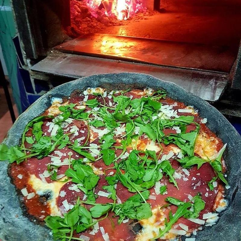 Pizzas Nera: Carta de Pizzería Oasis
