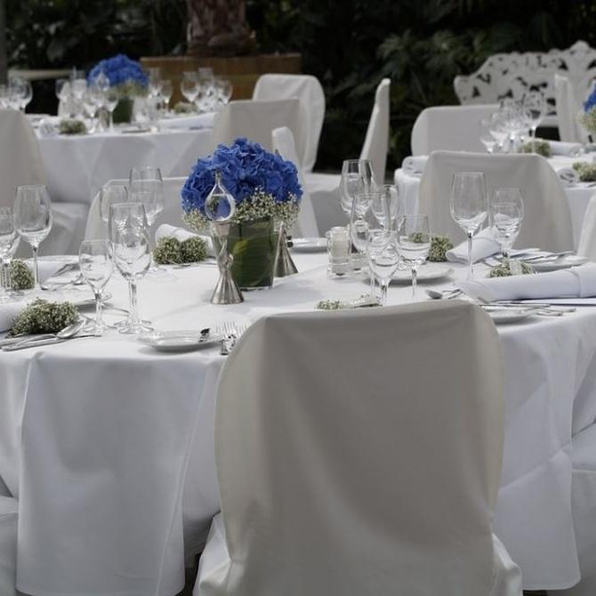 Tipos de mesas en una boda