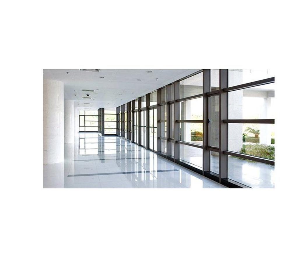 La división de oficinas en aluminio