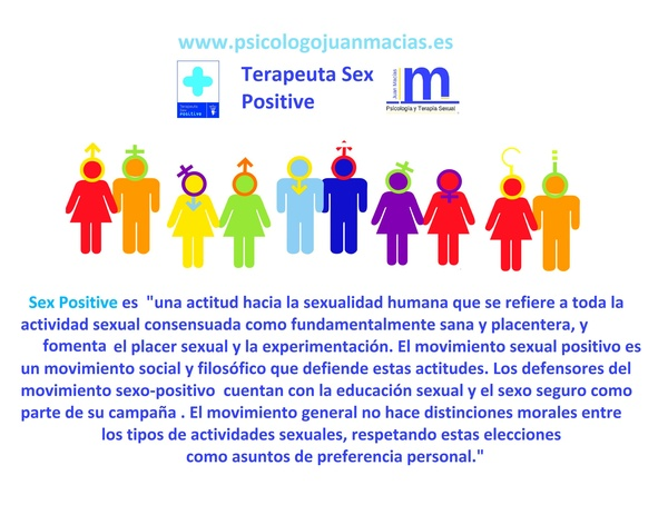 Terapia Sexual  Madrid Centro -Terapeuta Sex Positive - Sexólogo