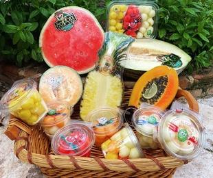 Preparación: Cajas de frutas y verduras