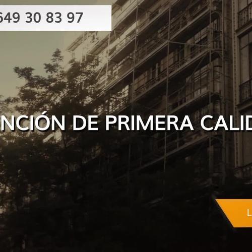 Alquiler andamios Madrid Centro