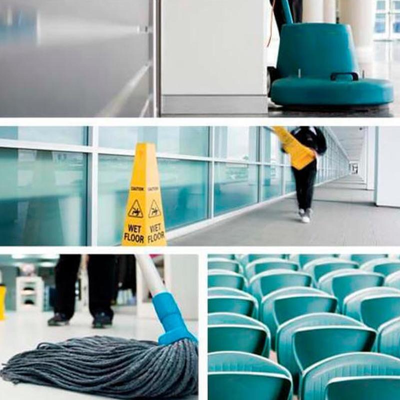 Limpieza de Centros Comerciales y Establecimientos: Servicios de Limpiezas Uzal